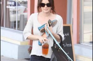 Rachel Bilson : Une va-nue-pieds à Los Angeles !