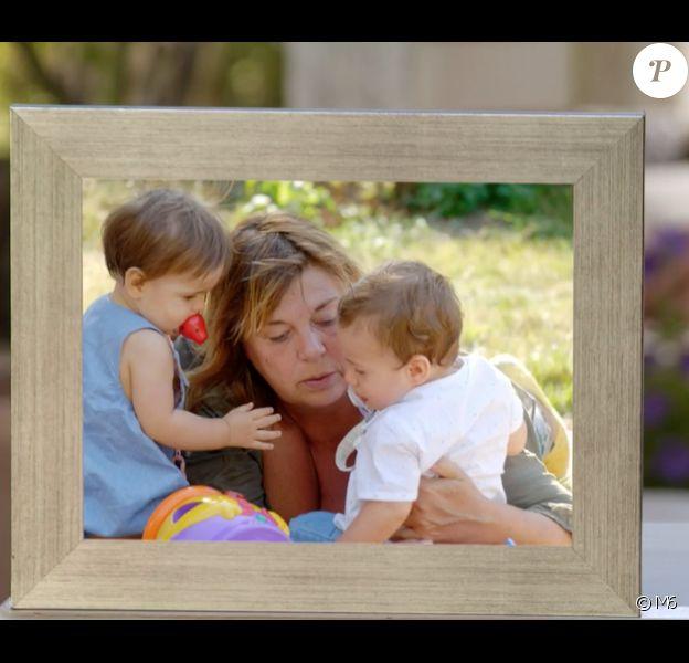 """Michèle Bernier et les enfants de sa fille Charlotte Gaccio. """"Une ambition intime"""", le 8 décembre sur M6."""