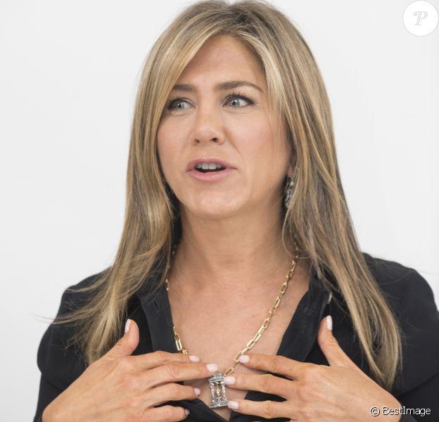 """Jennifer Aniston - Conférence de presse avec les acteurs du film """"Dumplin'"""" à Beverly Hills. Le 22 octobre 2018"""