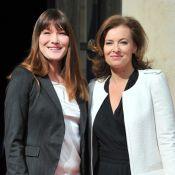 """Carla Bruni, confidences à Valérie Trierweiler : """"Je fus heureuse de partir..."""""""