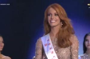 Miss Monde 2018 : Maëva Coucke radieuse et drôle, termine dans le Top 12