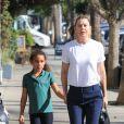 Ellen Pompeo et sa fille Stella sont allées chez Alfred Coffee à Studio City, le 30 octobre 2018.