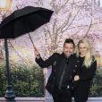 """Chris Marques et sa compagne Jaclyn Spencer - Projection exceptionnelle du film """"Le Retour de Mary Poppins"""" au cinéma UGC Ciné Cité Bercy à Paris, le 10 décembre 2018. © Pierre Perusseau/Bestimage"""