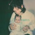 Soko et son fils Indigo Blue. Le bébé est né en novembre 2018.