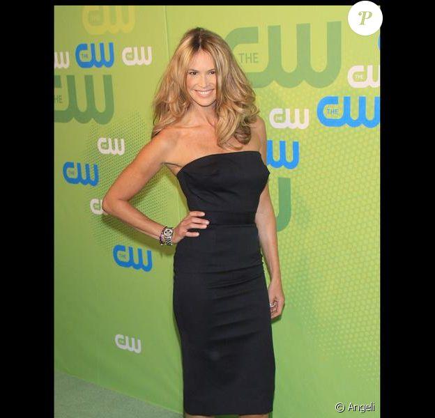 Elle Macpherson à la soirée CW Network au Madison Square Garden le 21 mai 2009