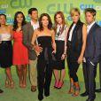 L'équipe de  Melrose Place 2.0  à la soirée CW Network au Madison Square Garden le 21 mai 2009