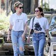 Kristen Stewart et Sara Dinkin à Los Angeles. Décembre 2018.