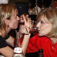 Jeanne Moreau fête ses 80 ans et ses 60 ans de carrière avec Sandrine Bonnaire à Angers