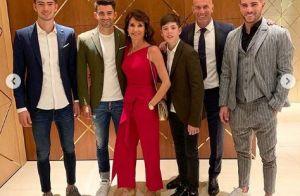 Zinédine Zidane à Dubaï pour Noël, Véronique et les enfants sur leur 31
