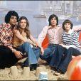 Enrico Macias, Sheila, Mireille Mathieu et Ringo sur le plateau de l'émission Numéro 1 en 1975.