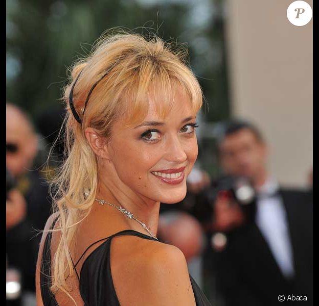 Hélène de Fougerolles lors du 62e Festival de Cannes