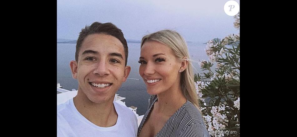 La footballeur de l'OM Maxime Lopez et sa belle Montaine, ex-candidate de télé-réalité, sont en couple.