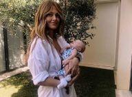 Caroline Receveur, maman nostalgique, dévoile ses premiers instants avec Marlon
