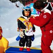 Ingrid Chauvin, super fière : Son petit Tom est déjà un champion comme papa !