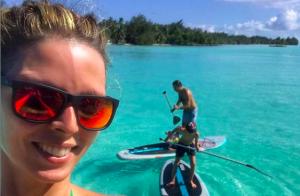 Sylvie Tellier, maman heureuse en bikini : Elle annonce ses résolutions !