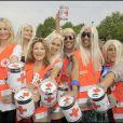 Pour la 75ème quête de la Croix-Rouge à Boulogne-Billancourt, les blondes assurent ! Vous les reconnaissez ?