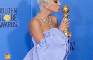 Lady Gaga : 5 millions de bijoux aux Golden Globes et des larmes