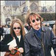 Florent Pagny et Vanessa Paradis en 1991