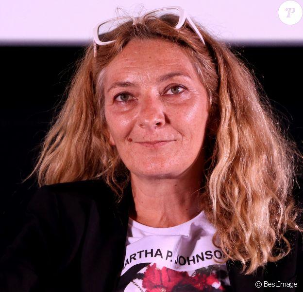 Corinne Masiero - Cérémonie de clôture du Festival International du Film de Saint-Jean-de-Luz. Le 6 octobre 2018 © Patrick Bernard / Bestimage