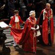 Arthur Chatto, petit neveu de la reine Elizabeth II. Ici en 2012, lors d'une cérémonie à la Cathédrale Saint Paul.