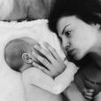 Julia Flabat et son fils Edan sur Instagram, le 24 septembre 2017.