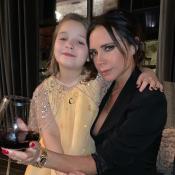 Victoria Beckham : Son instant beauté avec sa fille de 7 ans, Harper