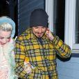 Exclusif - Katy Perry et Orlando Bloom arrivent au restaurant Matsuhisa dans la station de Aspen le 2 janvier 2019.