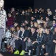 Kate Moss , Nikolaï von Bismark lors du photocall du défilé Christian Dior Homme automne hiver 2018/2019 au Champs de Mars à Paris le 18 janvier 2019. © Olivier Borde / Bestimage