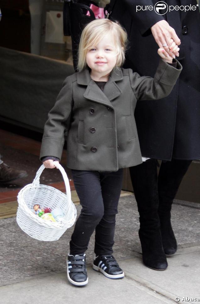 Shiloh Jolie-Pitt a aujourd'hui trois ans !