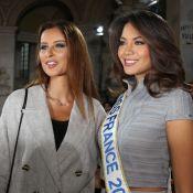 Vaimalama Chaves et Malika Ménard : Réunion de Miss à la Fashion Week de Paris