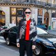 Coco Rocha arrive au défilé Schiaparelli lors de la Fashion Week Haute Couture collection printemps/été 2019 de Paris, France, le 21 janvier 2019. © CVS/Bestimage
