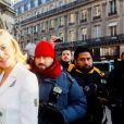 Pixie Lott arrive au défilé Schiaparelli lors de la Fashion Week Haute Couture collection printemps/été 2019 de Paris, France, le 21 janvier 2019. © CVS/Bestimage