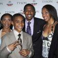Mike Tyson en famille avec ses trois premiers enfants