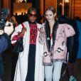 Naomi Campbell, Natalia Vodianova - Défilé Valentino, collection Haute Couture printemps-été 2019 à l'hôtel Salomon de Rotschild lors de la Fashion Week de Paris, le 23 janvier 2019. © Veeren-CVS/Bestimage