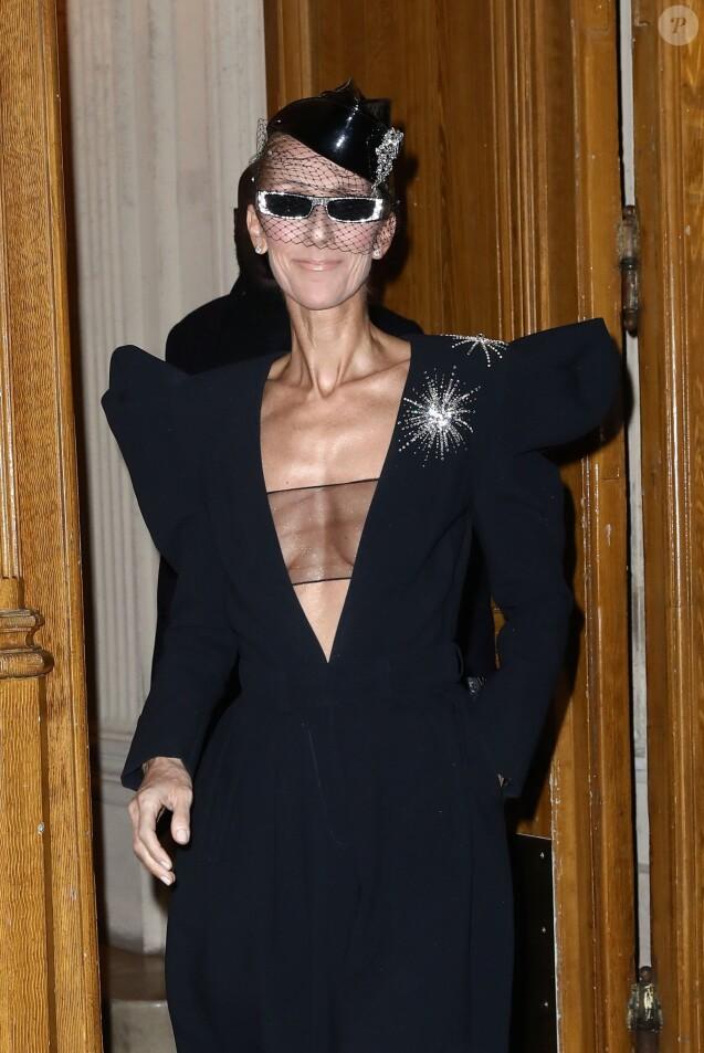 Céline Dion à Paris le 25 janvier 2019.