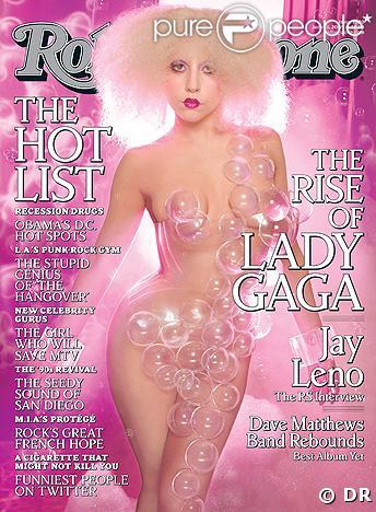 Lady Gaga en couverture du magazine Rolling Stones