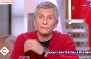 Nagui ému aux larmes en évoquant son combat pour le Téléthon :