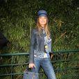Cyrielle Clair à Roland Garros hier