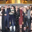 Exclusif - Les lauréats lors du dîner de la 14ème cérémonie des Globes de Cristal, à la salle Wagram à Paris, le 4 février 2019. © Rachid Bellak/Bestimage