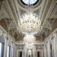 Vue générale de la salle des fêtes fraîchement rénovée, au palais de l'Elysée à Paris, le 5 février 2019 © Eliot Blondet/Pool/Bestimage