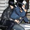 Katy Perry et son compagnon Orlando Bloom - Les célébrités arrivent au 50ème anniversaire de Jennifer Aniston au Sunset Towers Hotel à West Hollywood, son ex compagnon B. Pitt était invité à la soirée le 9 février, 2019.