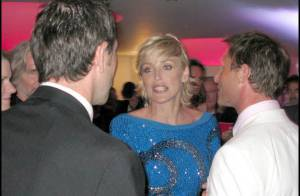 EXCLU : Sharon Stone, Paris Hilton, Dita Von Teese et toutes les stars... à la soirée très privée de l'amfAR ! Regardez !