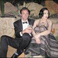 Dita Von Teese, lors de la grande soirée de l'amfAR, le 21 mai 2009, lors du 62e Festival de Cannes !