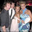 James Blunt, Justin Long et Hayden Panettiere, lors de la grande soirée de l'amfAR, le 21 mai 2009, lors du 62e Festival de Cannes !