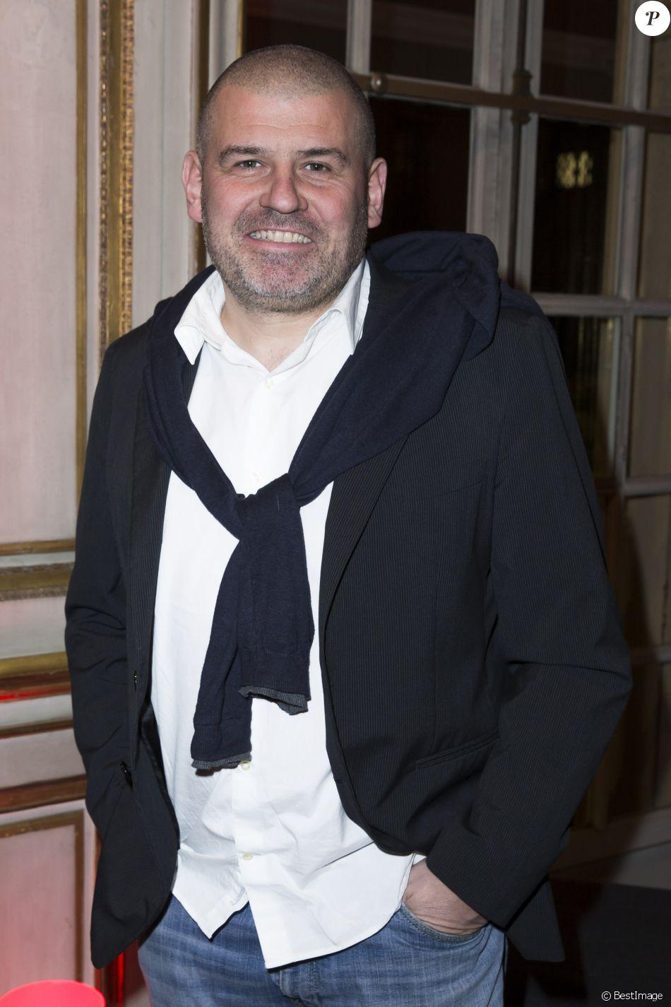 Exclusif - Christian Etchebest - 40 ans de la maison Poiray au profit de l'association Mécénat Chirurgie Cardiaque à la Fondation Mona Bismarck à Paris le 12 février 2015.
