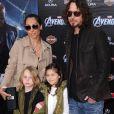 """Chris Cornell - Avant-première du film """"The Avengers"""" à Hollywood, le 11 avril 2012."""