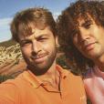 """Martin Bazin et Laurent Maistret de """"Koh-Lanta"""" à Ouarzazate, au Maroc - Instagram, 2 novembre 2017"""
