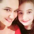 Magalie Vaé et sa fille Elia - Instagram, 25 décembre 2018