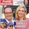"""Couverture de """"France Dimanche"""", numéro du 15 février 2019."""