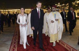 Letizia d'Espagne lumineuse au Maroc : le geste très classe du roi Mohammed VI